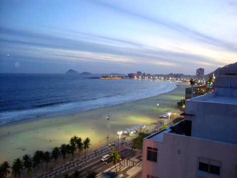 Copacabana by night