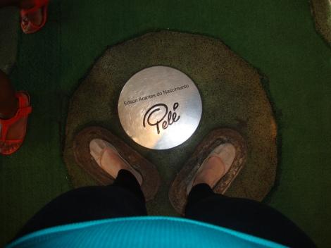 Pele's feet