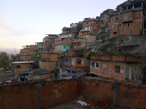 Inside the favela