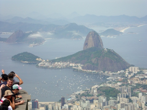 View of Sugar Loaf from Corcovado