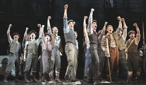 Newsies all-male cast