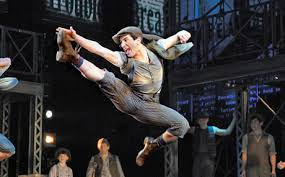 Newsies modern-dance inspired
